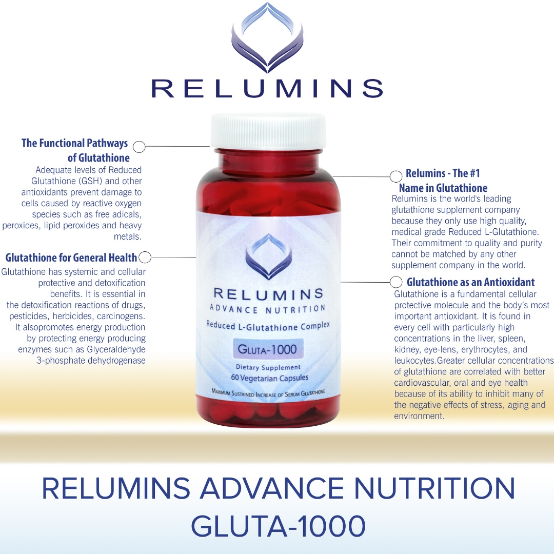 Relumins Reduced Glutathione 60 Capsules